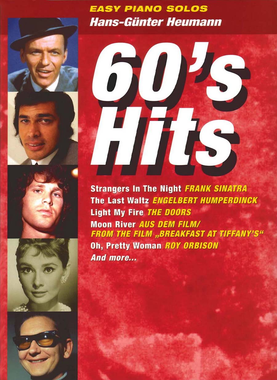 60's hits easy piano solos arranged by Hans-Günter Heumann