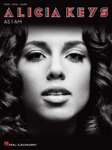 Alicia Keys «As I Am». Piano, Vocal, Chords Songbook