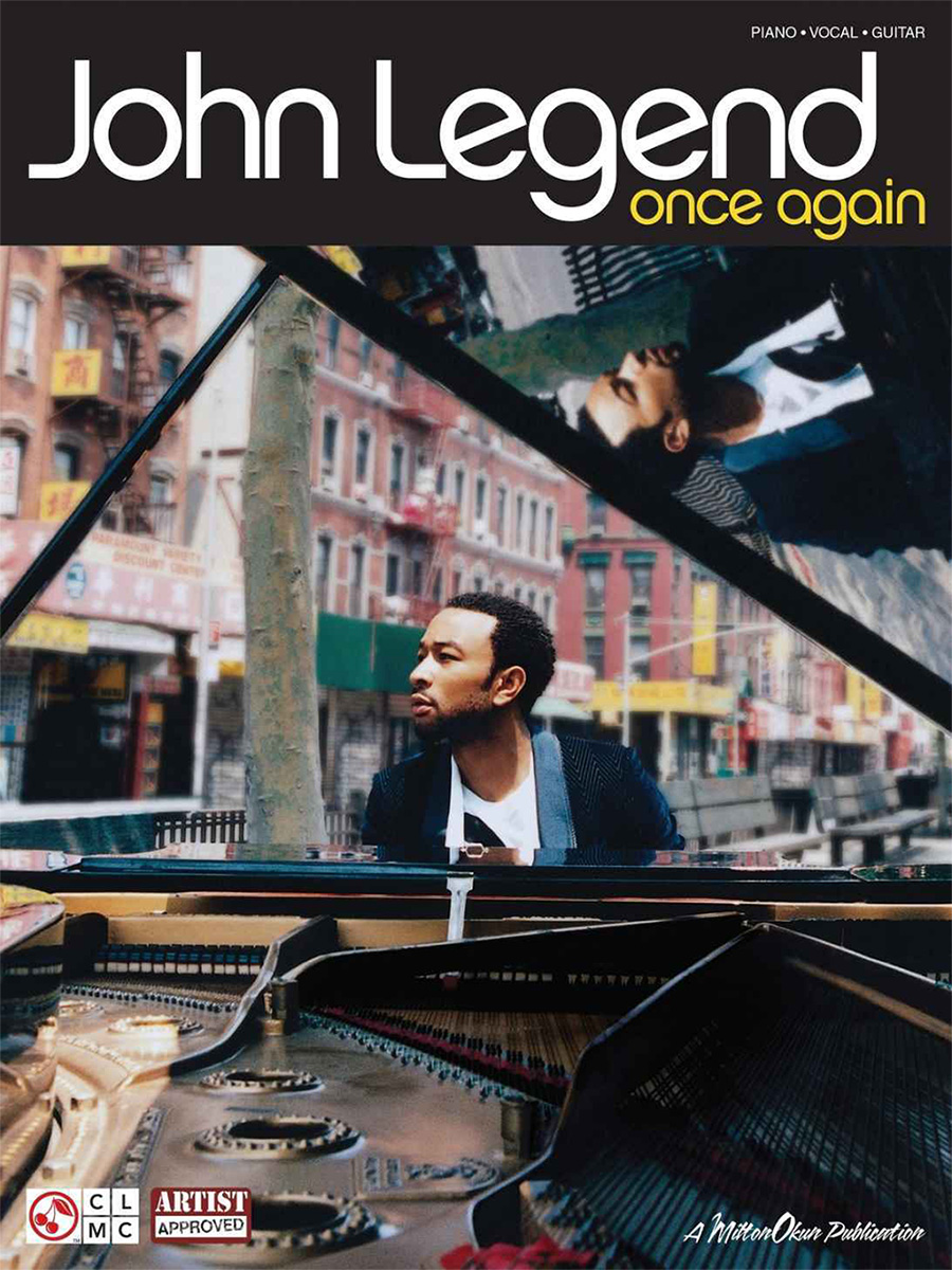 John Legend «Once Again» Songbook Sheet Music