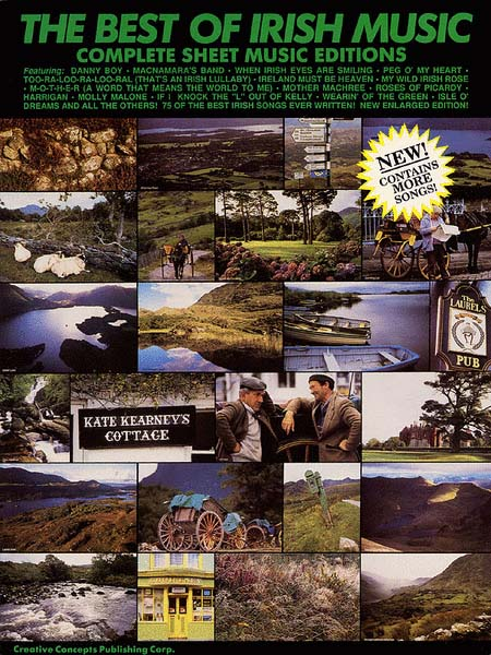 The Best of Irish Music Complete Sheet Music Editions