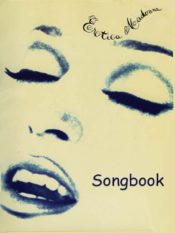 Madonna Erotica Songbook Free Sheet Music