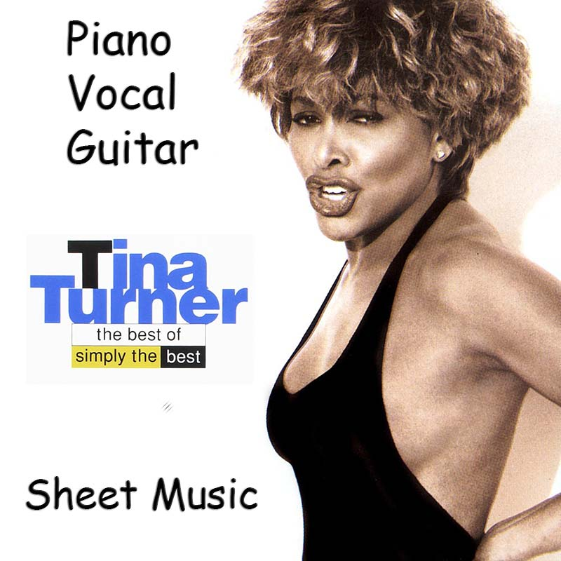 Tina Turner «The Best Of Simply The Best» Songbook