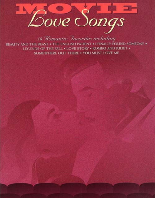 Movie Love Songs Piano Solo Songbook