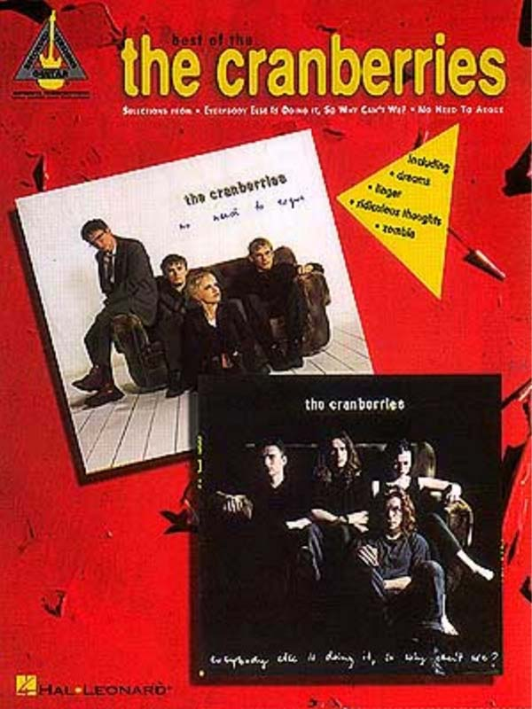 Best of the Cranberries for Guitar songbook