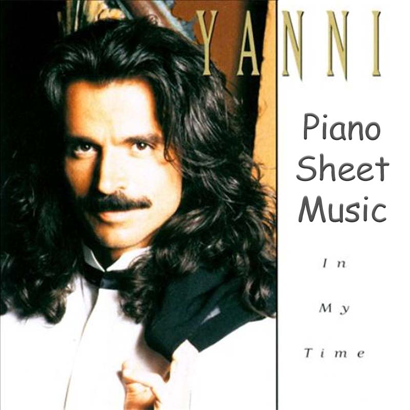 Yanni In My Time Piano Solo Songbook