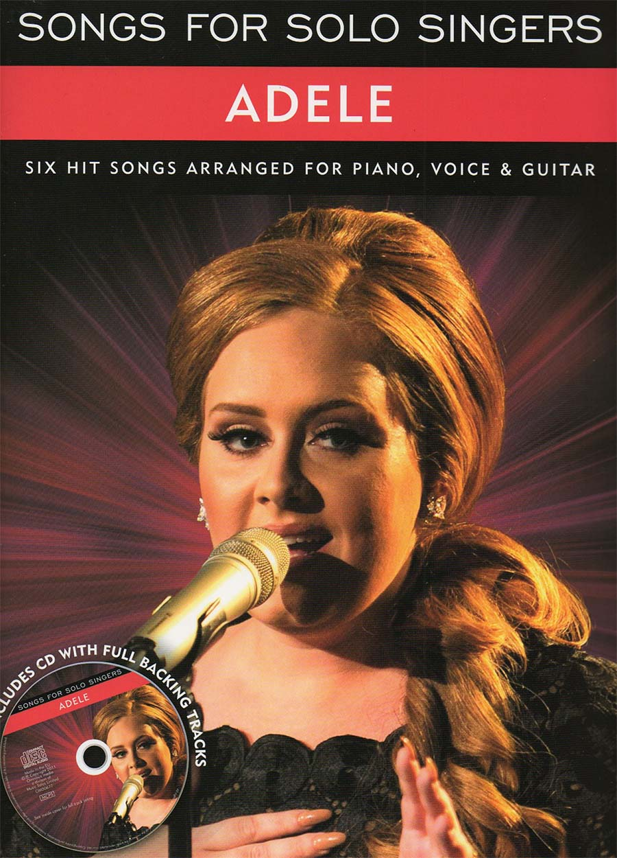 Adele Songs For Solo Singers Free Sheet Music