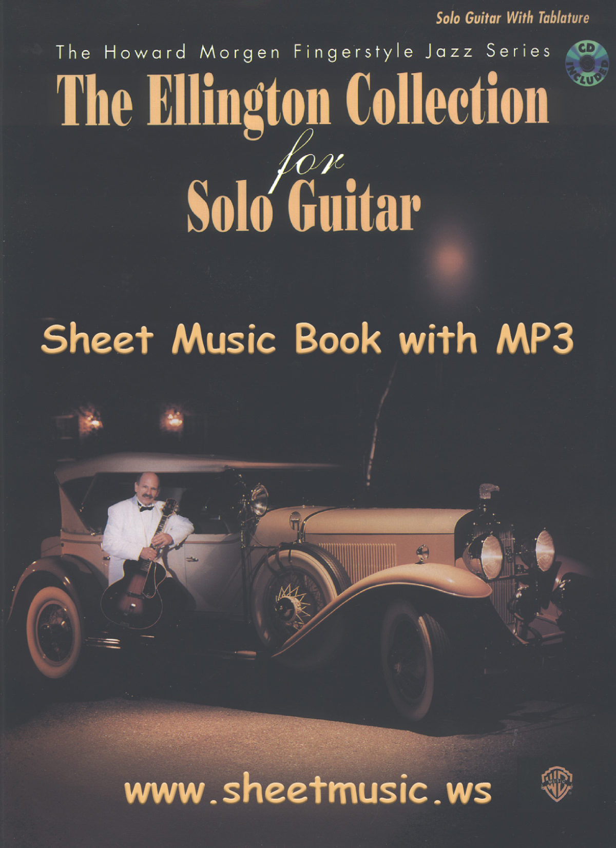 The Ellington Collection For Solo Guitar sheet music book and MP3